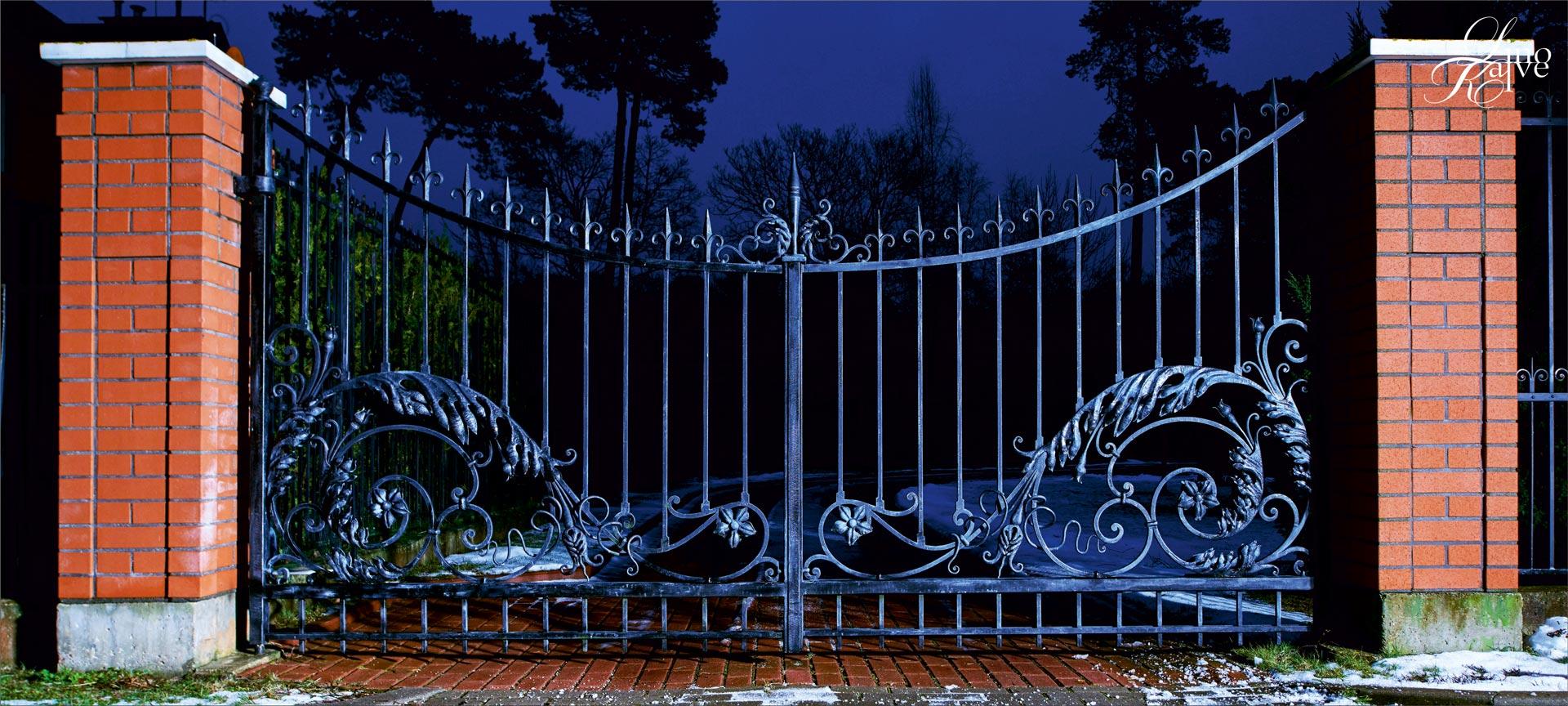 GATES, LIGHTS.